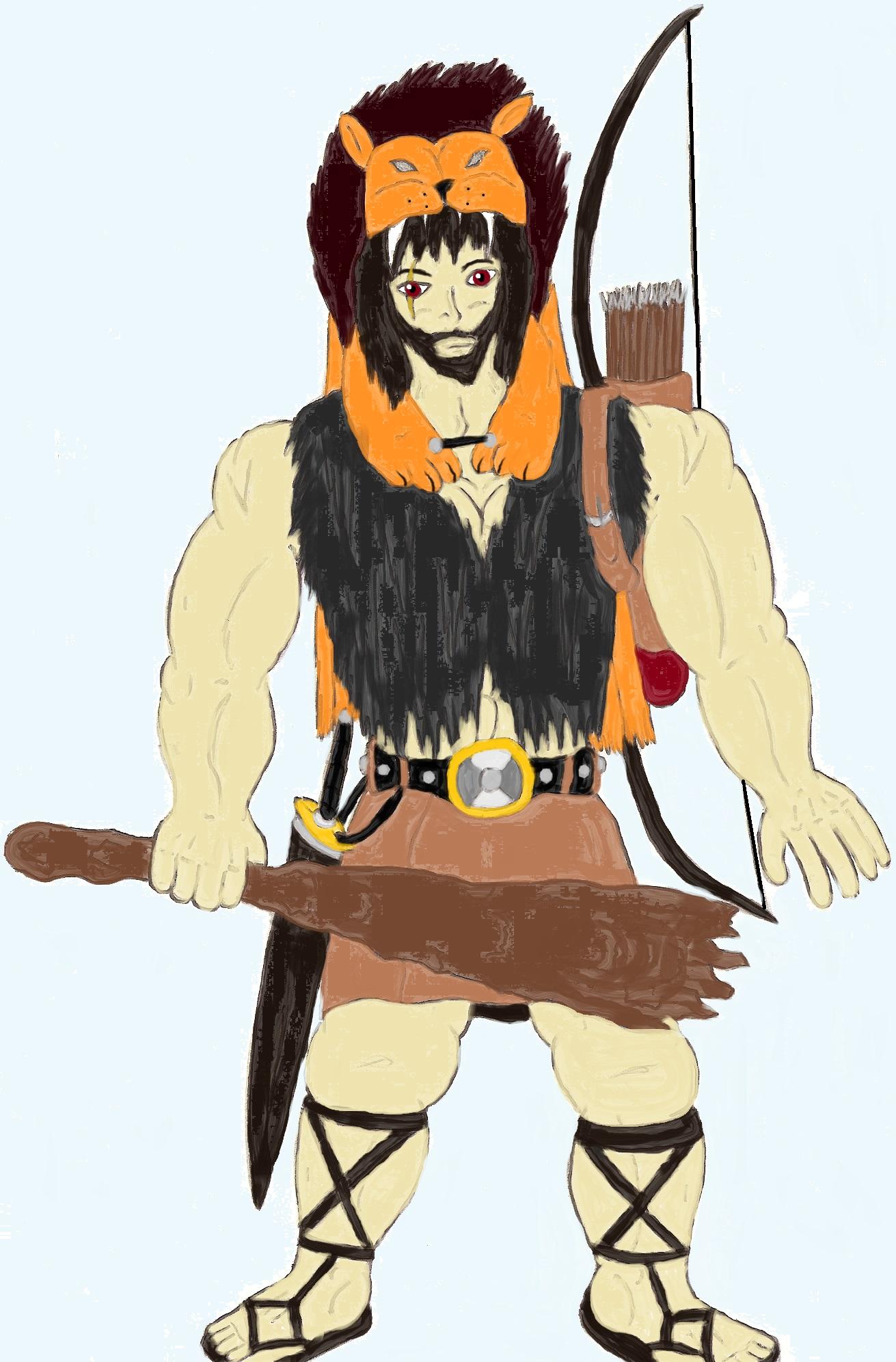 Hercules Head Harness Toriko Oc Hercules By Chikararyoku Diek