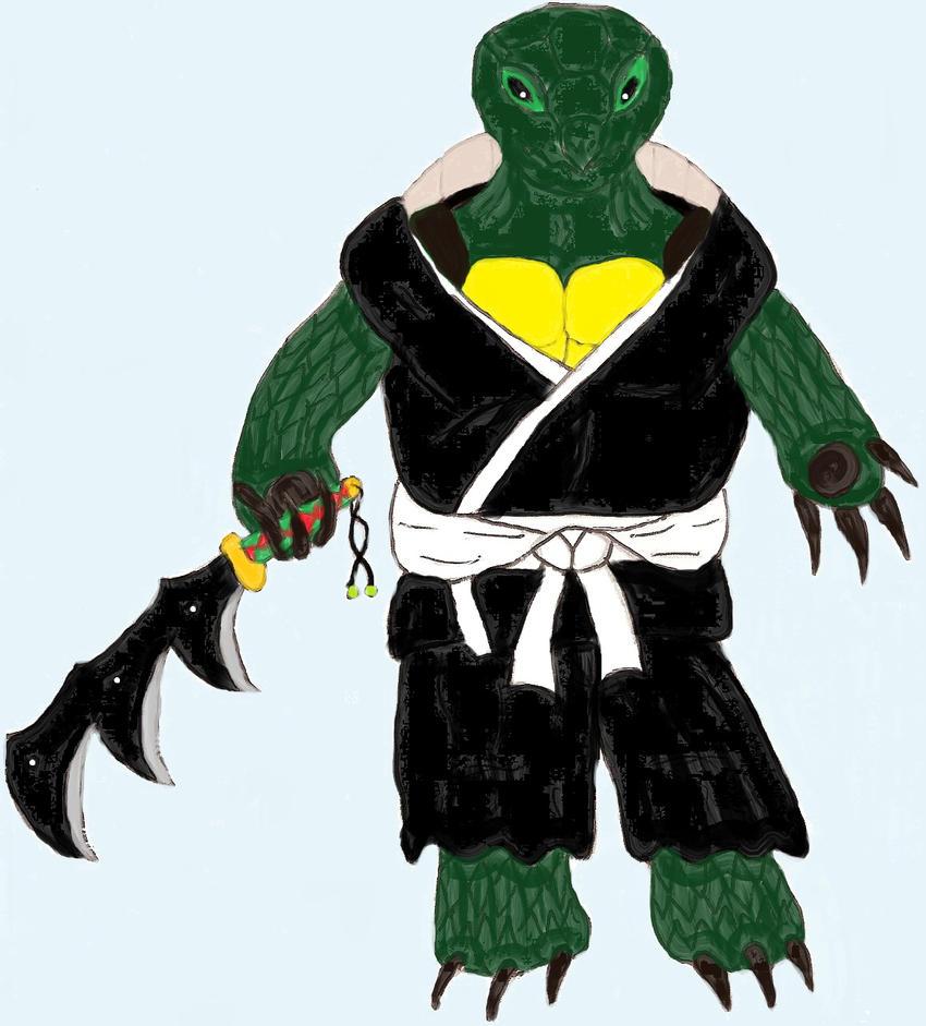 Soul Reaper: Genbu Kame by ChikaraRyoku