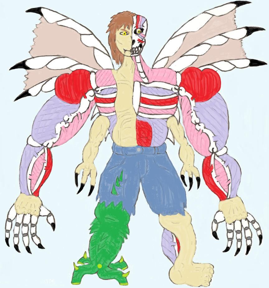 Toriko OC: Menace. Final Form By ChikaraRyoku On DeviantArt