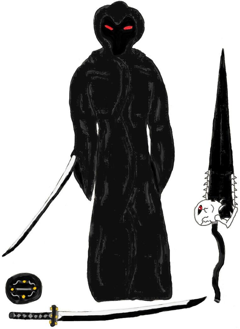 Zanpaktou: Kage no Shihai-Sha. Spirit - Shikai by ChikaraRyoku