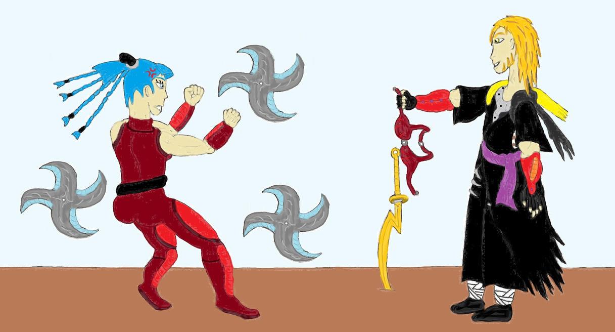 Rivals: Ice Queen vs Jester by ChikaraRyoku on DeviantArt