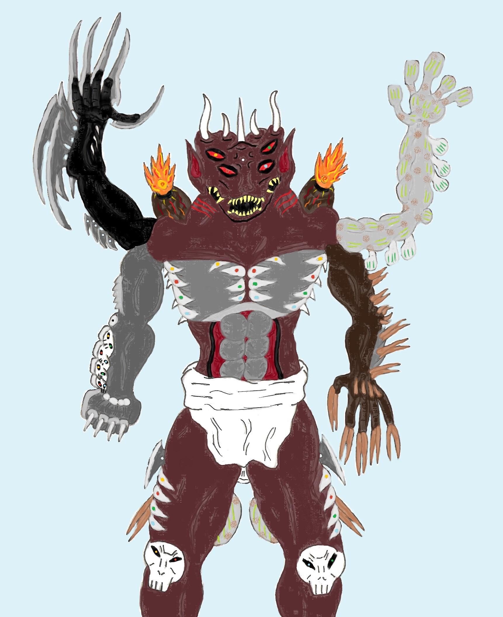 Toriko OC: Suramo's Appetite Demon: Apocalypse By