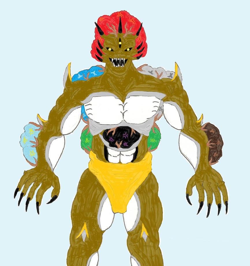 Toriko: Mathew's Appetite Demon. True Form By ChikaraRyoku