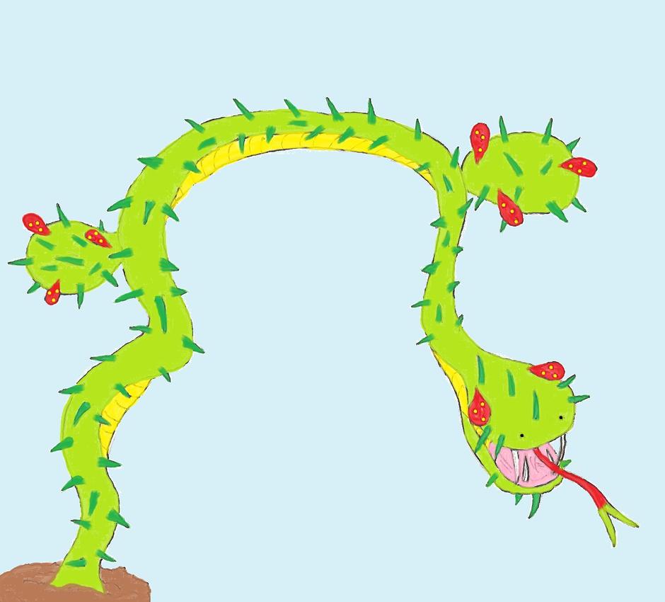 Toriko Ingredient: Cactusnake By ChikaraRyoku On DeviantArt