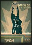 Retro Tron Poster