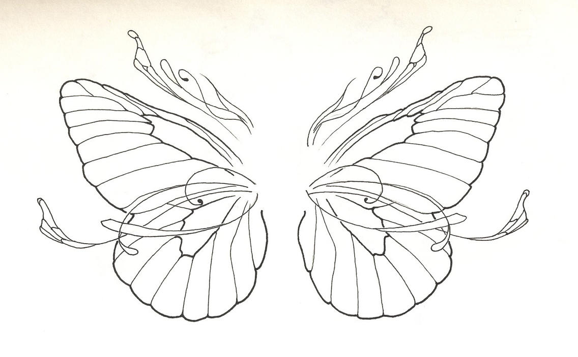 butterfly wings by scarecrow black on deviantart