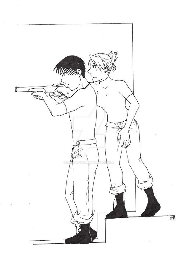 002. Gunshot by kocham-trufle