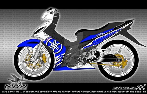 Calendar Typography Yamaha : Yamaha lc design a by zulkapan on deviantart