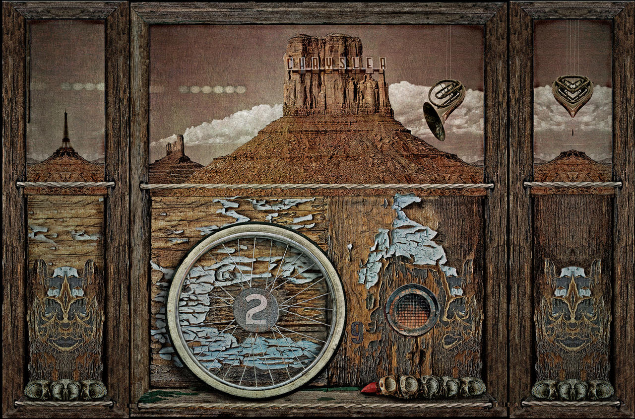 The Surreal West Tryptych