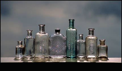 Clean Clear Bottles