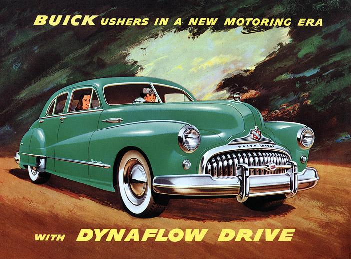Buick 1948 Green 01 by DouglasHumphries