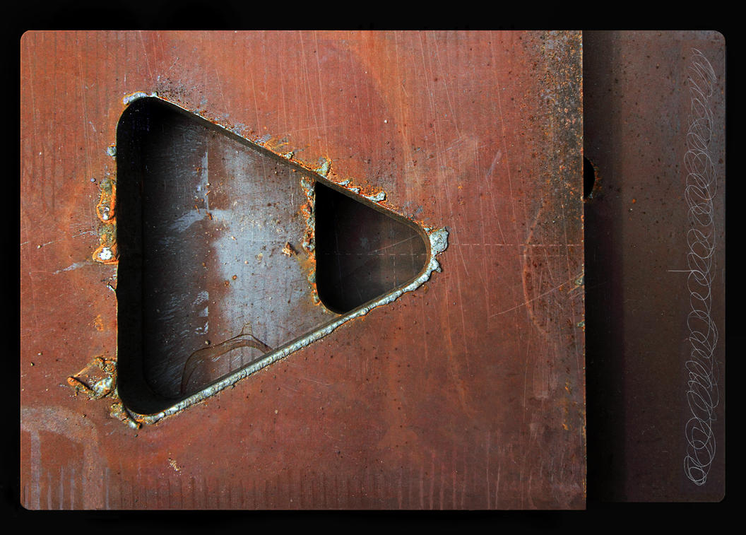 Metal Abstract ( version two ) by DouglasHumphries