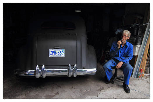 The Mechanic and His Automobile