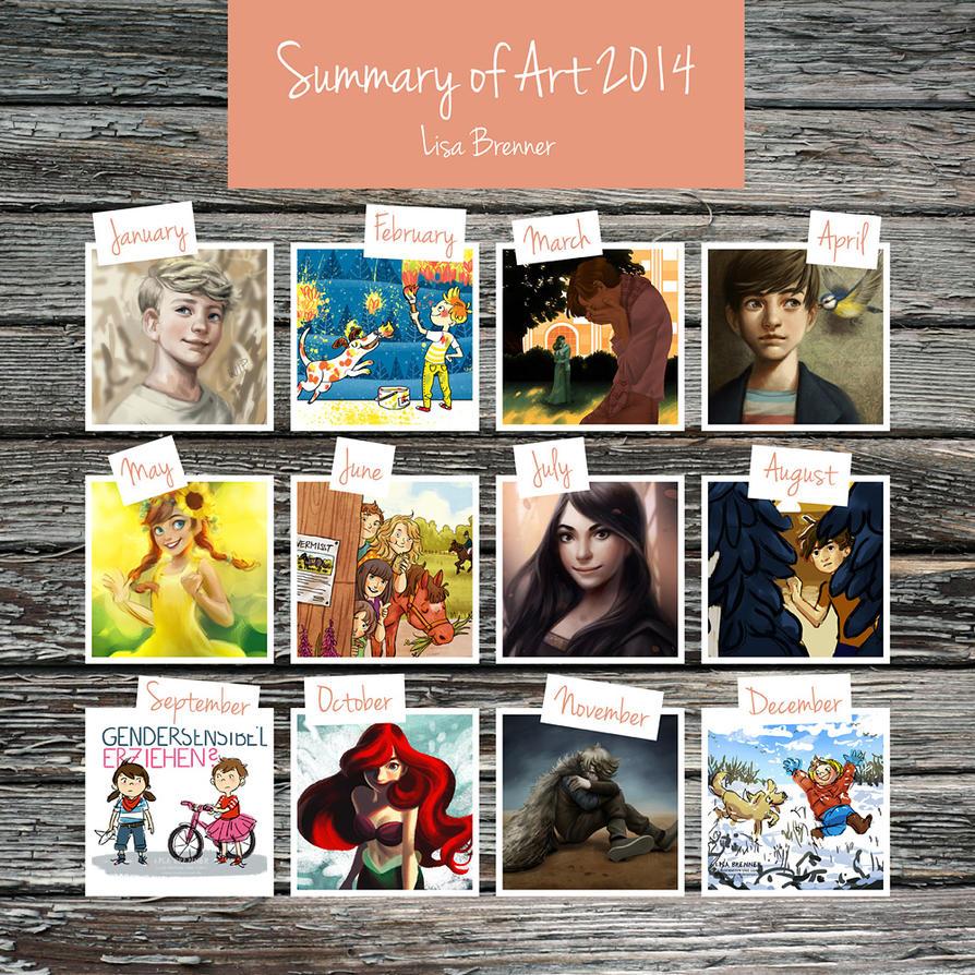 Summary of Art 2014 by Zippora