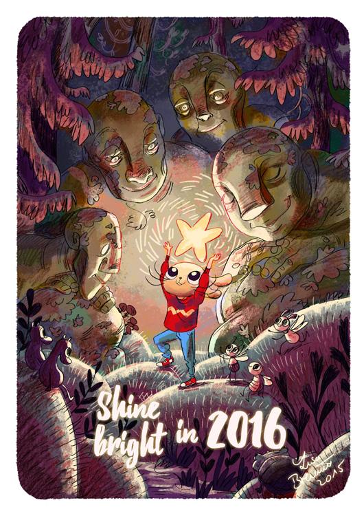 Shine bright in 2016! by Zippora
