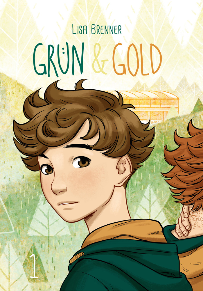 Green and Gold Cover by Zippora