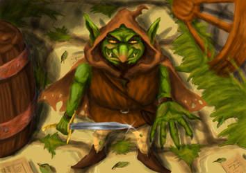 Goblin thief by LuisBrancoac