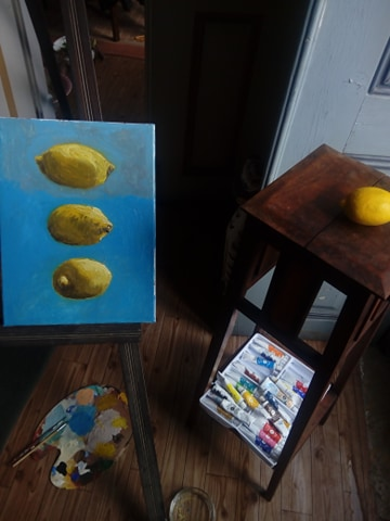 still life oil painting by LuisBrancoac