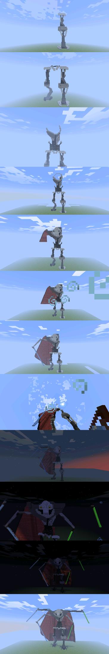 MineCraft Grievous by WheatPodlaska