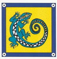 Tribal Series #3_Gecko by pham158