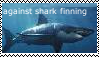 Against shark finning stamp by wolfhey