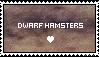 Dwarf Hamsters Stamp by wolfhey