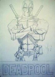 Deadpool By Allenyael by allenyael