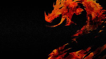 guildwarsdragon by bellapie11