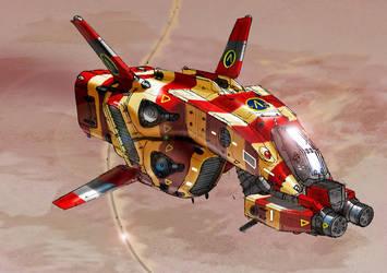 spaceshuttle by bellapie11