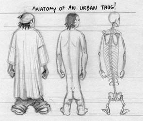 anatomy of the urban thug by bellapie11