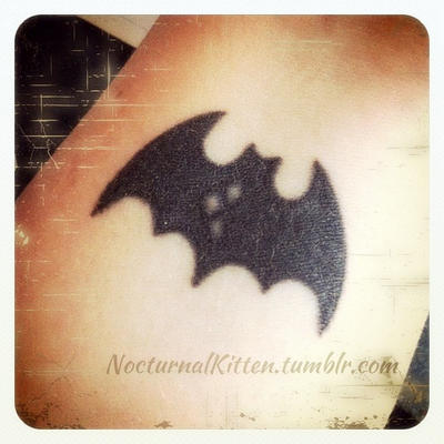 Harley Quinn Bat Symbol Tattoo By Nocturnalkitten Art On Deviantart