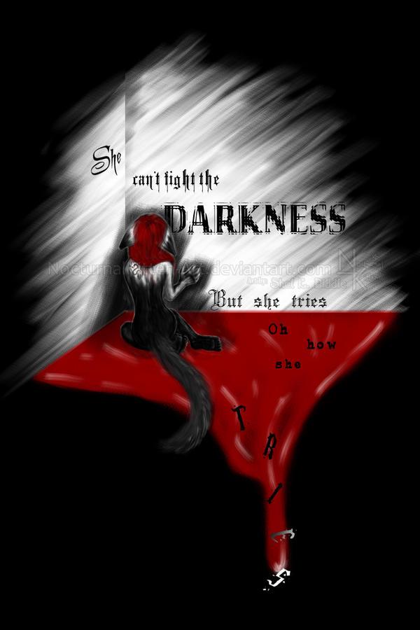 Darkness by NocturnalKitten-Art