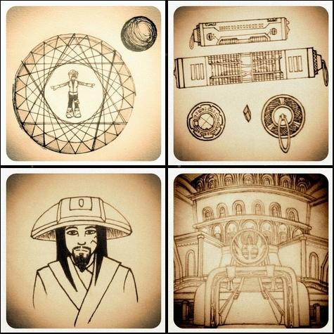 Aurin's Sketchbook - 2 by NocturnalKitten-Art