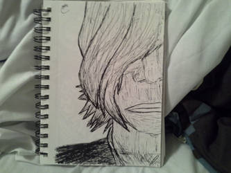 Onision Portrait Pen and Ink by Kyleohsnap