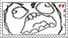 rageguy stamp by FireAmy