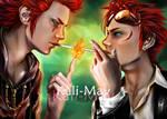 10 Year Challenge: Axel and Reno by Kali-Mav