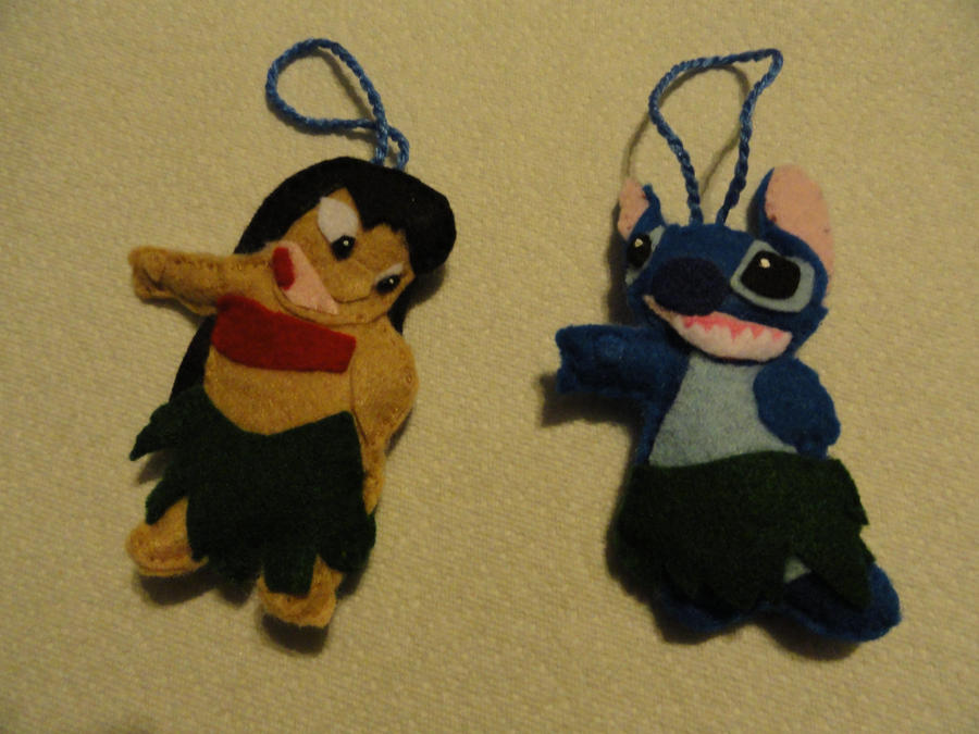 Lilo and stitch ornament by righteousbabet on deviantart for Lilo and stitch arts and crafts
