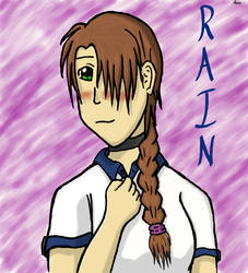 Tablet Practice: Rain Flaherty by ExiaConquista