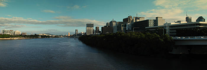 brisbane river by karpourighn