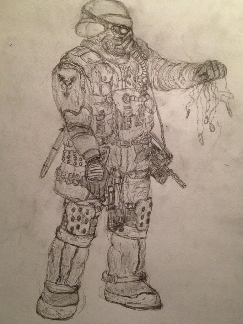 Helghast Trooper by fish333