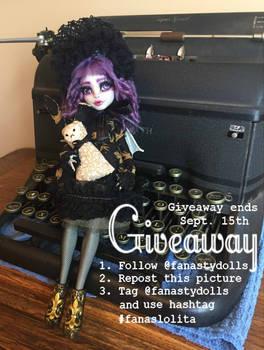 GIVEAWAY! Goth Lolita Repaint