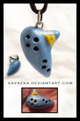 Ocarina of Time Pendant by Kavaeka