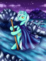 COMMISSION: Lyra Heartstrings by Kavaeka