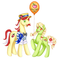 COMMISSION: Flam and Young Granny Smith
