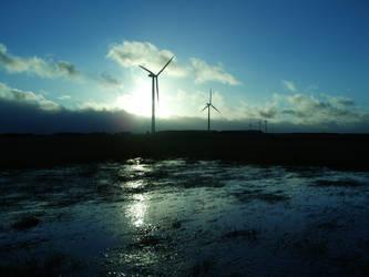 wind farm 2 by digitalblasphemy