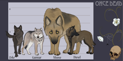 Jon's Dogs - ODOCT2 by Aegypius-X
