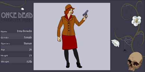 NPC: Irma Brewdin by Aegypius-X