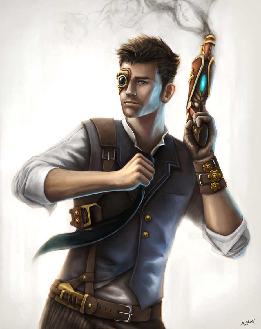 Steampunk Guy by adlovett on DeviantArt