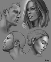 portraitStudies by adlovett