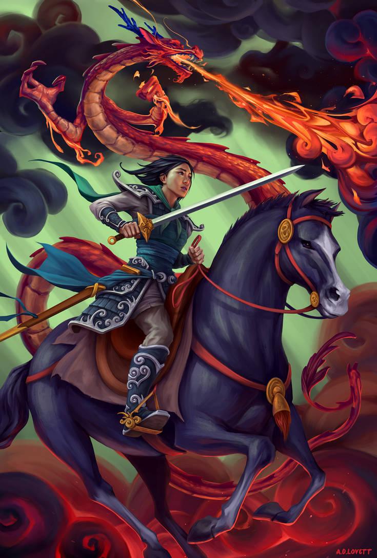 Mulan by adlovett